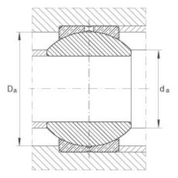 FAG Radial spherical plain bearings - GE30-PB