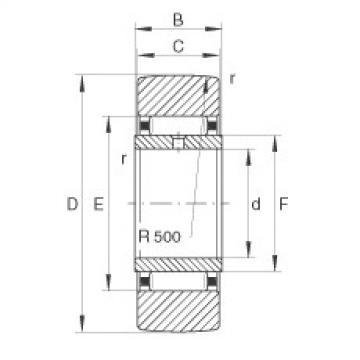 FAG نير نوع بكرات المسار - STO30