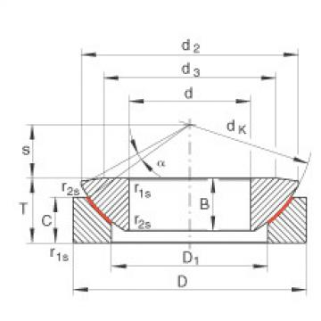 FAG Axial spherical plain bearings - GE30-AW