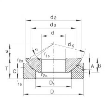FAG Axial spherical plain bearings - GE35-AX