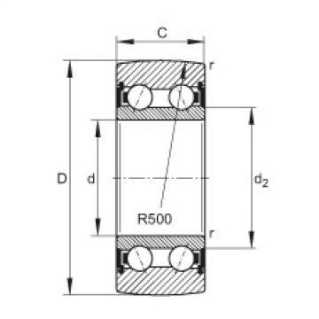 FAG بكرات الجنزير - LR5307-2HRS-TVH-XL