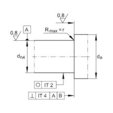 FAG محوري الزاوي الاتصال الكرات - ZKLF3080-2Z-XL