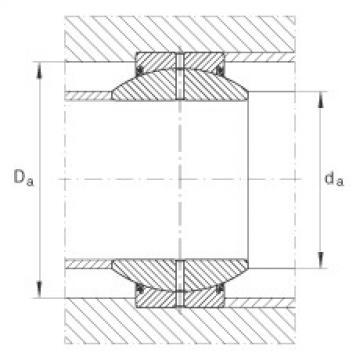 FAG Radial spherical plain bearings - GE30-FO-2RS