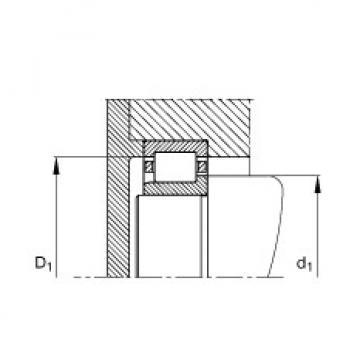 FAG محامل أسطوانية - NJ2306-E-XL-TVP2