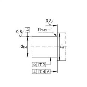 FAG محوري الزاوي الاتصال الكرات - BSB3572-SU