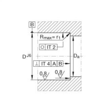FAG محوري الزاوي الاتصال الكرات - BSB3062-SU
