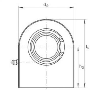 FAG Hydraulic rod ends - GF35-DO
