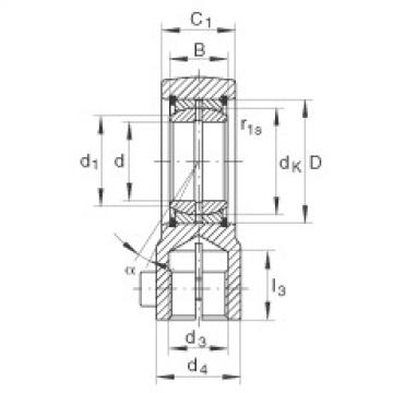 FAG Hydraulic rod ends - GIHRK30-DO