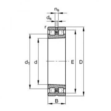 FAG محامل أسطوانية - NN3007-AS-K-M-SP