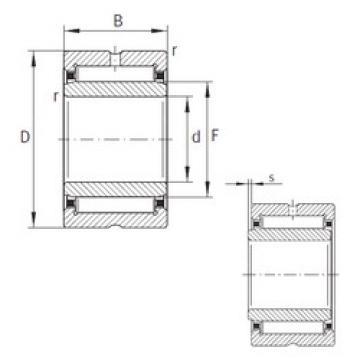 المحامل NKI80/25-XL INA