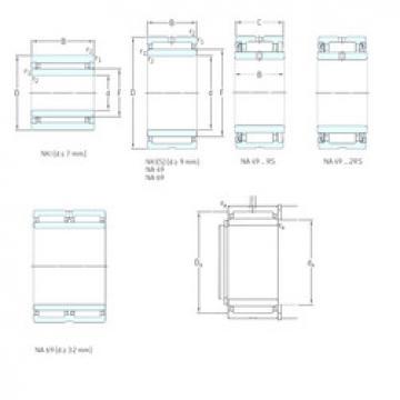المحامل NKI80/35 SKF