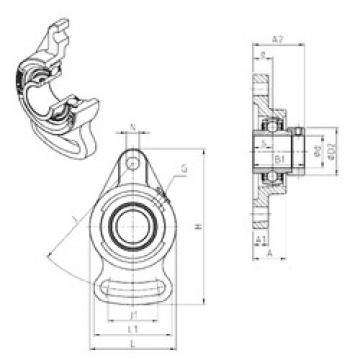 المحامل EXFA210 SNR