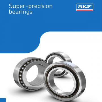 SKF BEAM 025075-2RZ/PE Angular contact thrust ball bearings for screw drives, double direction, super-precision