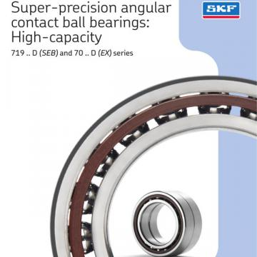 SKF BEAM 017062-2RZ/PE Angular contact thrust ball bearings for screw drives, double direction, super-precision