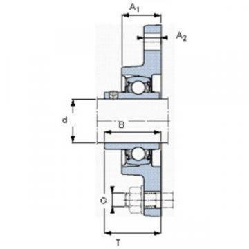 SKF 7200 ACD/P4A Angular contact ball bearings, super-precision