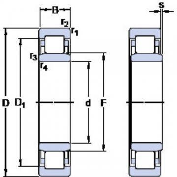 SKF 71956 CD/P4A Angular contact ball bearings, super-precision