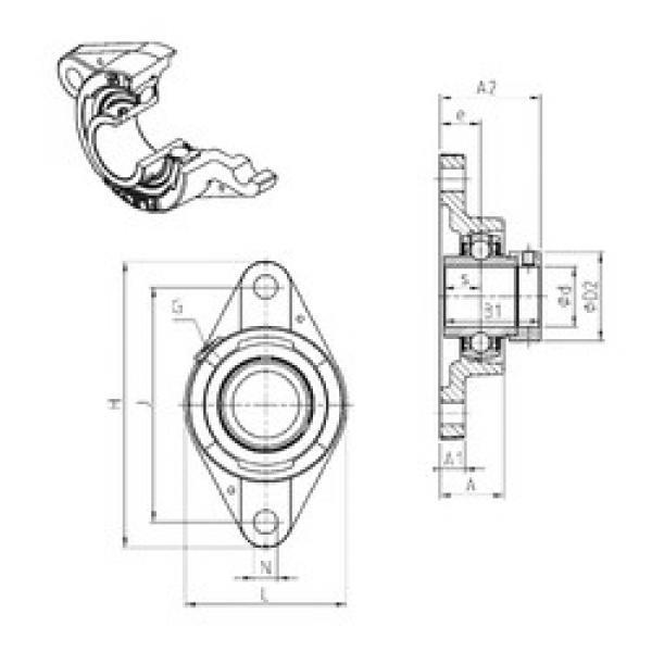 المحامل EXFLE210 SNR #1 image