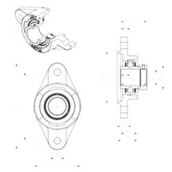 المحامل EXFLZ208 SNR #1 image