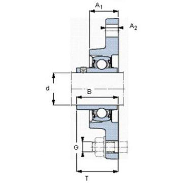 SKF 71936 CD/HCP4A Angular contact ball bearings, super-precision #4 image