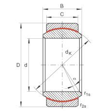 FAG Radial spherical plain bearings - GE30-UK