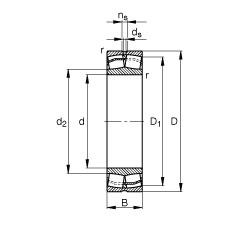 FAG محامل كروية - 21306-E1-XL-TVPB