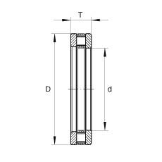 FAG محوري أسطواني محامل - RT605