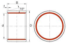 FAG Cylindrical plain bushes - ZGB35X41X30