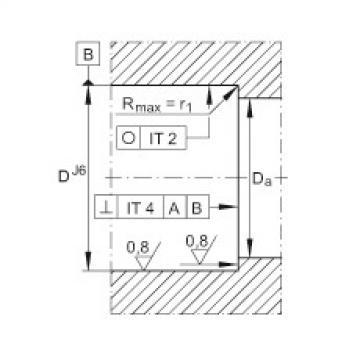 FAG محوري الزاوي الاتصال الكرات - ZKLN3062-2Z-XL