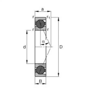 FAG محامل المغزل - HCB7206-E-T-P4S