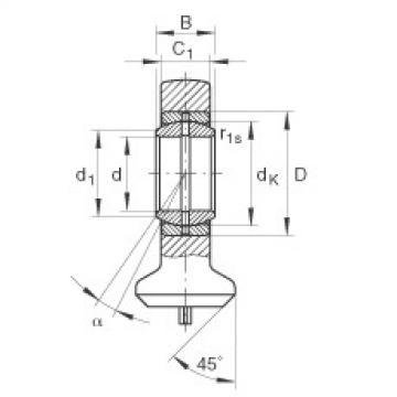 FAG Hydraulic rod ends - GK30-DO