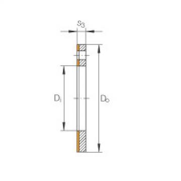 FAG Thrust washers - EGW32-E40