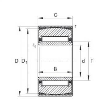 FAG محاذاة إبرة محامل - PNA30/52-XL