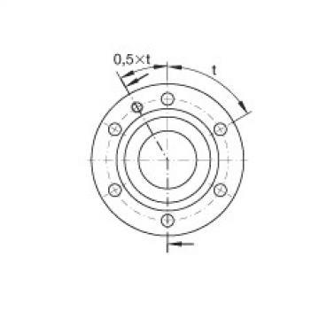 FAG محوري الزاوي الاتصال الكرات - ZKLF3080-2RS-PE