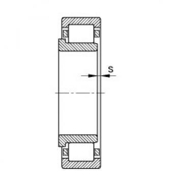 FAG محامل أسطوانية - NJ206-E-XL-TVP2