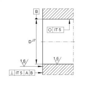 FAG Angular contact ball bearing units - DKLFA30110-2RS