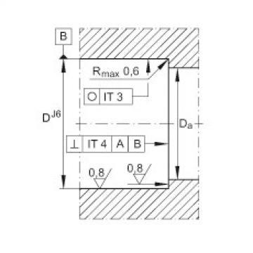 FAG إبرة بكرة / محوري أسطواني محامل - ZARN3080-TV