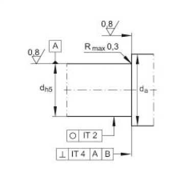 FAG إبرة بكرة / محوري أسطواني محامل - ZARF3080-TV