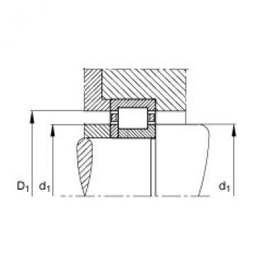 FAG محامل أسطوانية - NUP2206-E-XL-TVP2