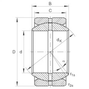 FAG Radial spherical plain bearings - GE34-ZO