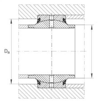FAG Radial spherical plain bearings - GE30-HO-2RS