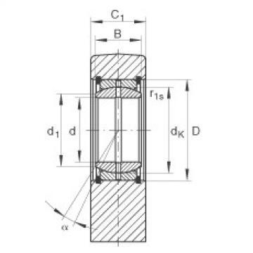 FAG Hydraulic rod ends - GF30-DO