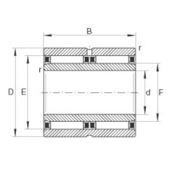 FAG محامل إبرة - NAO30X45X26-ZW-ASR1-XL