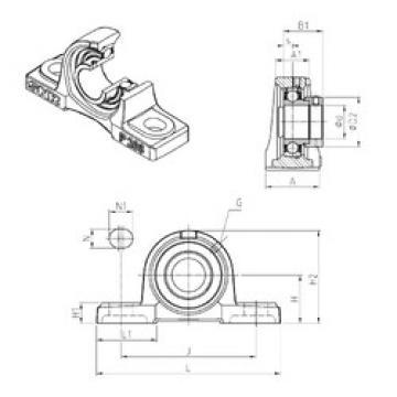 المحامل ESP201 SNR