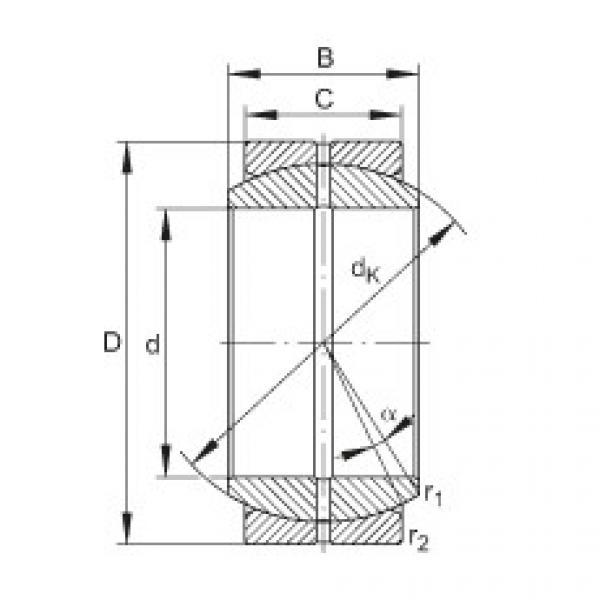 FAG Radial spherical plain bearings - GE35-DO #1 image