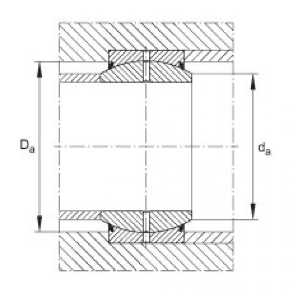 FAG Radial spherical plain bearings - GE35-DO #2 image