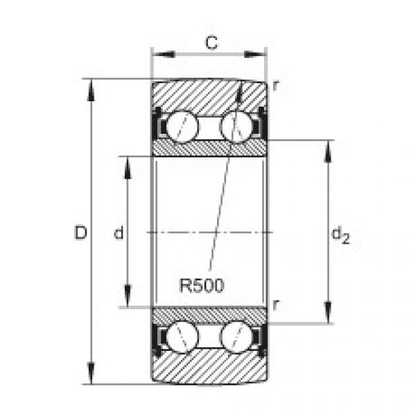 FAG بكرات الجنزير - LR5206-2HRS-TVH-XL #1 image