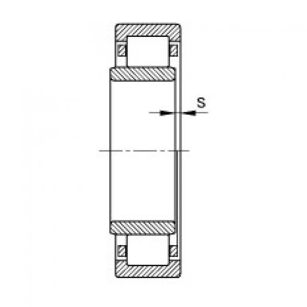 FAG محامل أسطوانية - NU206-E-XL-TVP2 #2 image