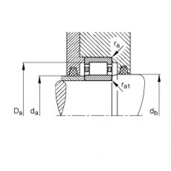 FAG محامل أسطوانية - NU206-E-XL-TVP2 #3 image
