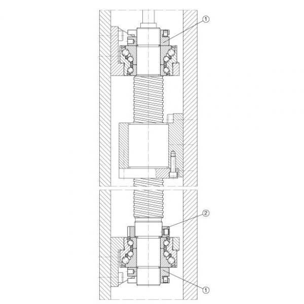 FAG Angular contact ball bearing units - DKLFA30100-2RS #4 image