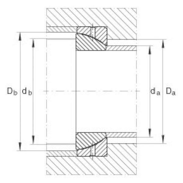 FAG Angular contact spherical plain bearings - GE30-SX #2 image